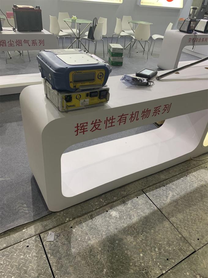 2019PF-300便携式甲烷、总烃和非甲烷总烃测试仪展会现场