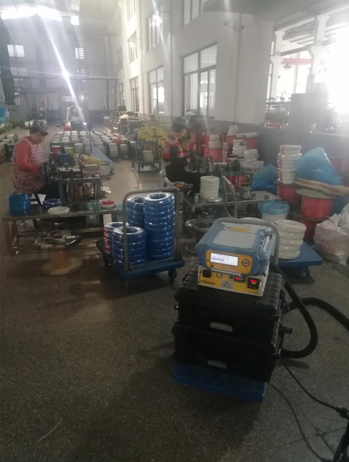 江苏省环科院做高温电缆行业挥发有机物排放测试